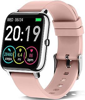 """Motast Smartwatch, Reloj Inteligente Pantalla TFT de 1,4"""", Pulsera Actividad con Monitor de Sueño Contador, Pulsómetro, Pu..."""