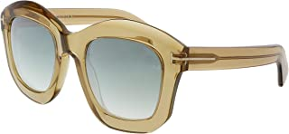 Kính mắt nữ cao cấp – FT0582 45P Shiny Light Brown Julia Square Sunglasses Lens Category 2 L