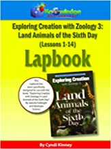 Apologia Exploring Creation With Zoology 3 - Land Animals of the 6th Day - Lessons 1-14 Lapbook Package: Plus FREE Printable Ebook
