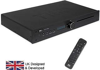TIBO TI435 - Sintonizador de Alta fidelidad con Mando a Distancia TI435 CDP Negro
