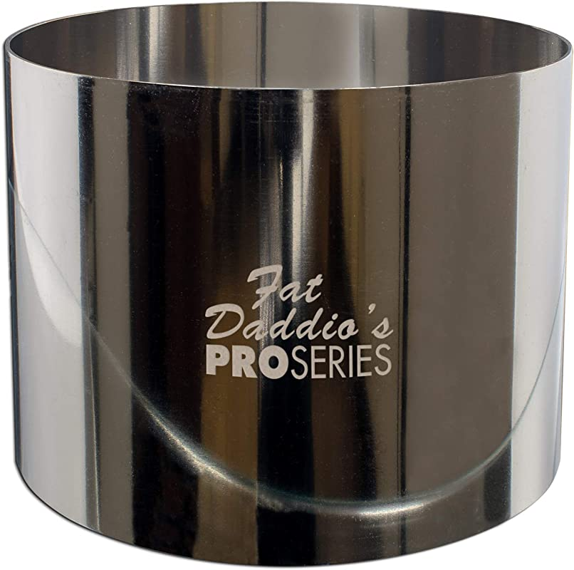 Fat Daddio S Stainless Steel Round Cake And Pastry Ring 2 75 Inch X 2 375 Inch