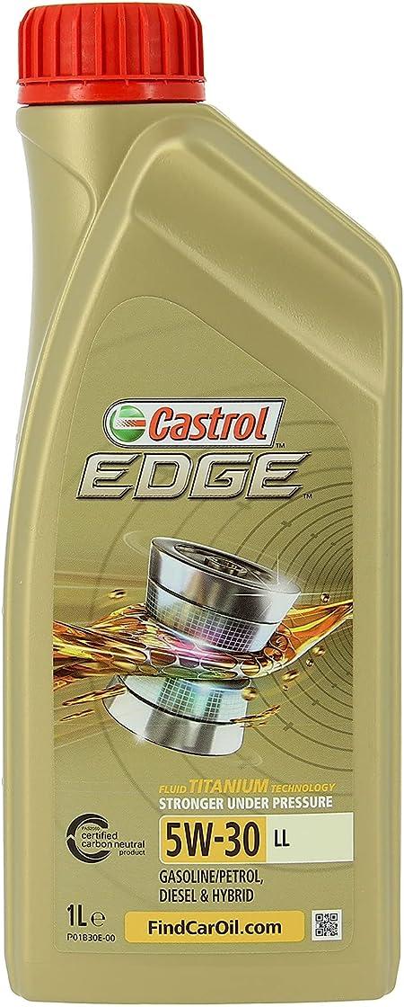 Olio motore castrol edge 5w-30 5w30 ll da lt.1 1l (etiquette allemande) EDGE 5w-30 LL