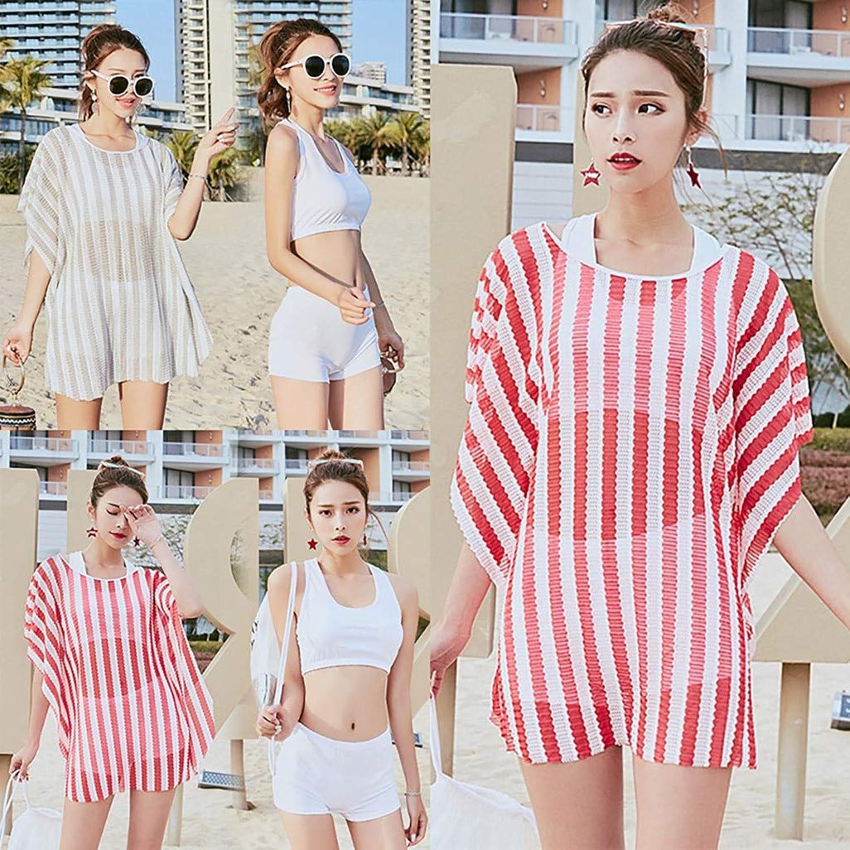 CHENG Bikinibademode Damen Badeanzug Bikini Cover Up 3 Stück Badeanzug Badeanzug Frauen Hohe Größe