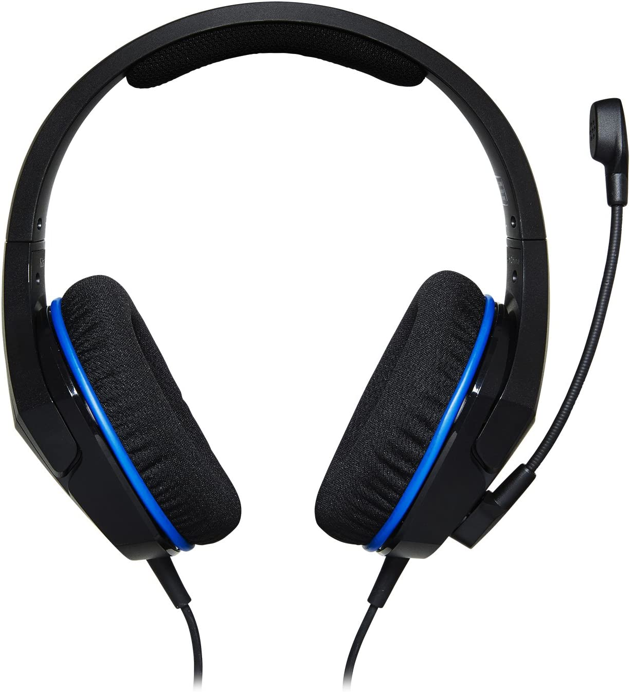 HyperX Cloud Stinger Core - Gaming Headset for PlayStation 4 and PlayStation 5, Over-Ear Wired Headset with Mic, Passive Noise Cancelling, Immersive In-Game Audio, In-Line Audio Control, Black