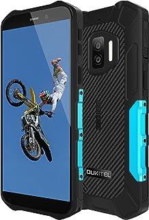 OUKITEL WP12 SIMフリースマホ本体 Android 11 スマートフォン 4000mAhアウトドアスマホ 32GB+4GB (256GBまで対応可能) デュアル4G SIM IP68&IP69K 防水 防塵 耐衝撃 顔認証 技適認...