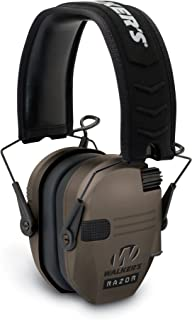 """Walker's Razor Slim Electronic Hearing Protection Muffs with Sound Amplification and Suppression. """"Protect It Or Lose It!"""" (Certified Refurbished)"""