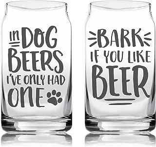 dog beer glasses