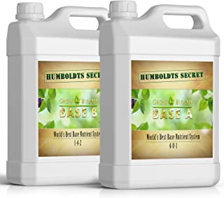 بهترین سیستم تغذیه ای پایه جهان: بسته نرم افزاری A & B مخفی Humboldts - مواد مغذی مایع / کود برای گیاهان و مراحل گلدهی گیاهان (2 کوارتز)