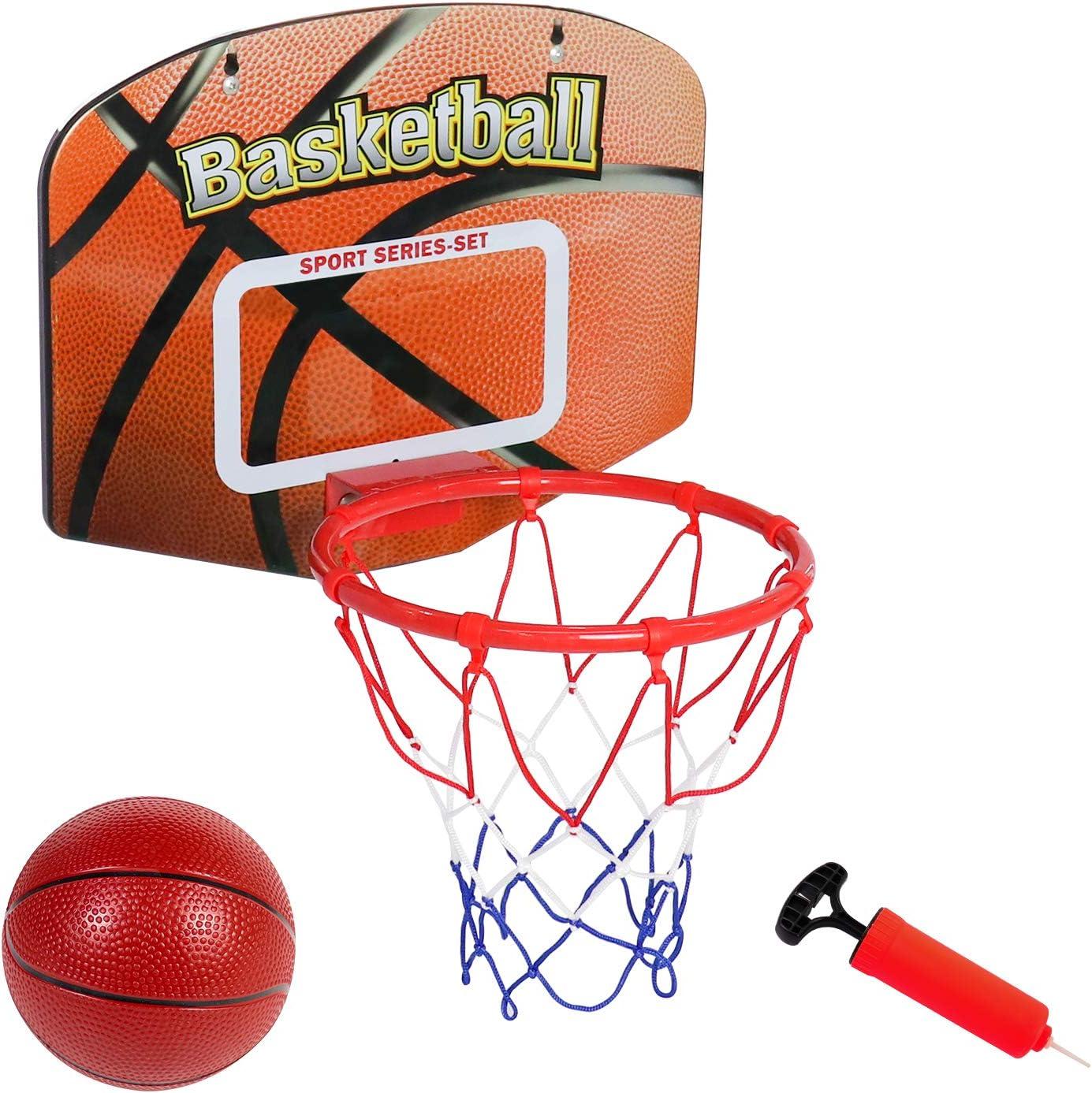 Toddler Basketball Hoop Portable Mini Basketball for Door Wall R