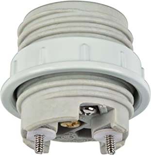 Westinghouse Lighting 7001000 Porcelain Threaded Socket with Metal Shade Ring