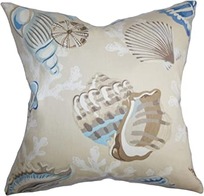 The Pillow Collection Unayzah Floral Throw Pillow Cover Time