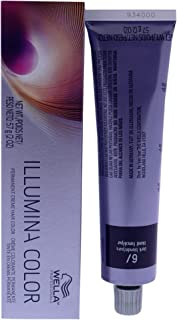 Wella Illumina Color Permanent Creme Hair Color 6 Dark Blonde-Neutral for Unisex - 2 oz