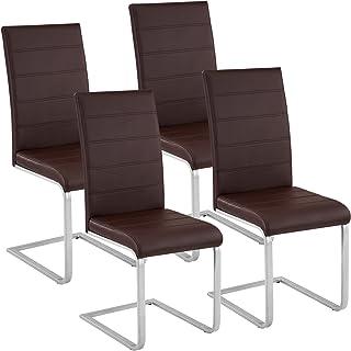 Amazon.es: sillas comedor marron - TecTake