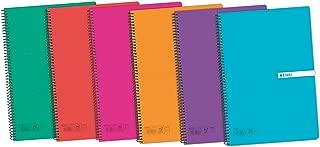 F/º Pack de 5 cuadernos espiral Enri Status 400088608 tapa extradura