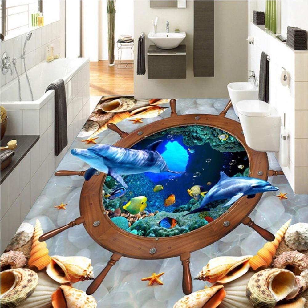 Clhhsy 3D Art Wallpaper Custom Underwater Popular brand in the world Sticker Floor World Jacksonville Mall