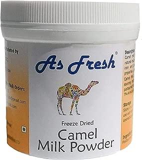 As Fresh Camel Milk Powder, 3.5 oz,makes 35 fl oz, 5 servings, Freeze dried, 100% pure