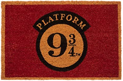 Erik Harry Potter Platform Door Mat, Coconut Coir, Multicolour, 40 x 60 cm