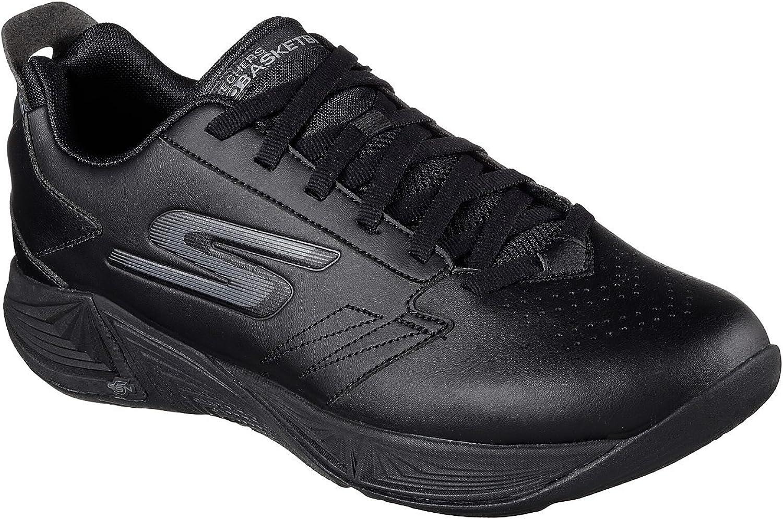 Skechers M än's GObasket Torch 2 Training skor (12.5 D (M) US, svart)