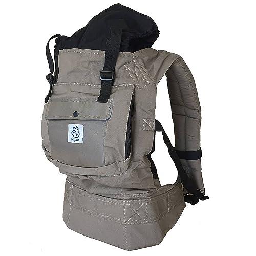 Porte-bébé pour porter votre bébé Mains libres - Porte bébé ergonomique  Multiples positions ☆ da39a4cd1ac