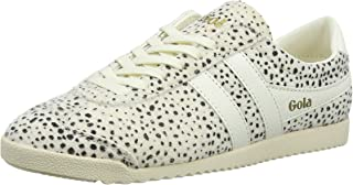 Gola Women's Bullet Cheetah Trainers (White OW)