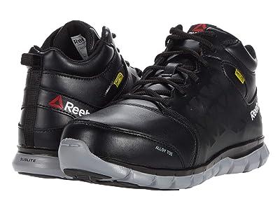 Reebok Work Sublite Cushion Work RB4143 Alloy Toe EH (Black) Men