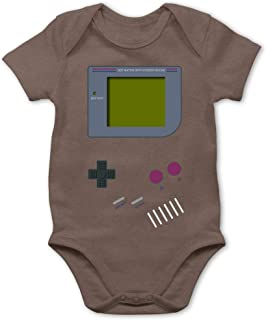 Shirtracer - Strampler Motive - Gameboy - Baby Body Kurzarm für Jungen und Mädchen