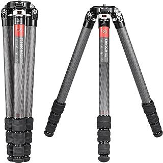 SUNWAYFOTO T3640CM Fiber Tripod for Video Camera Photography Weight Outdoor Tripod Waterproof,55.0lb Load