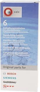 Bosch tablette de détartrage pour cafetière, 6 tablettes