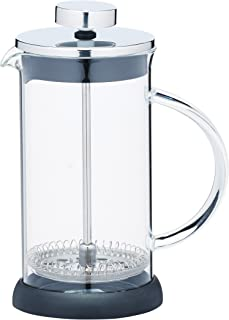 Kitchen Craft 350 ml de cristal/acero inoxidable le ' Xpress 3-tazas, translúcido