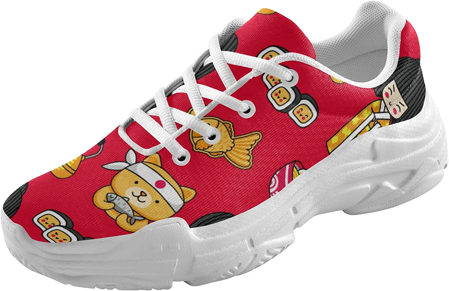 BGXW Japanese Doll Women Lac We Austin Mall OFFer at cheap prices Fashion Sneakers-Lightweight Chunky