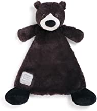 You are Loved Black Bear Black Children's Plush Lovie Toddler Blanket