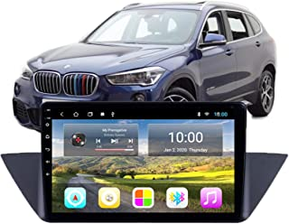 Android 9.0 Double Din Head Unit Car Stereo for B-MW X1 2010-2015 GPS Navigation 9 Inch Touch Screen Multimedia Player Rad...