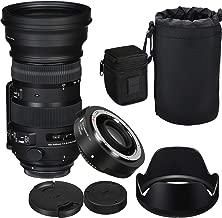 Sigma 150-600mm f/5-6.3 DG OS HSM Contemporary Lens for Nikon and TC-1401 1.4X Teleconverter Kit + Prime Accessory Bundle