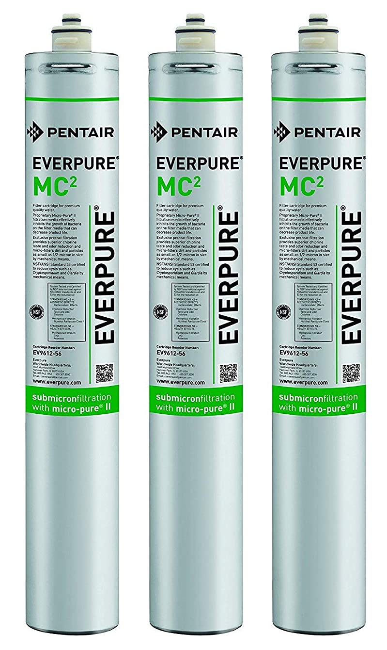 Everpure EV9612-56 MC2 Filter Cartridge (Pack of 3)