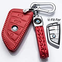 pananas BMW Silicone Protecting Key Case Cover Fob Holder Fit for BMW 1 3 5 6 7 Series Blue