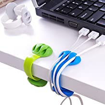 Cable Holder - Cord Organizer - Cable Management Clips - Wire Holder System -3 Packs Multipurpose Cable Clips for Phone Ch...