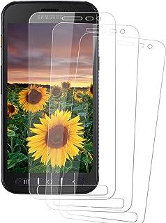 Snnisttek Samsung Galaxy XCover 4 Verre Trempé, [3 Pièces] [Ultra Claire] [Couverture Totale] Protection Écran, 9H Dureté,...