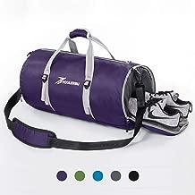 حقيبة حفاضات رياضية من Youlrupu مع حجرة أحذية خفيفة الوزن قابلة للطي للرجال والنساء
