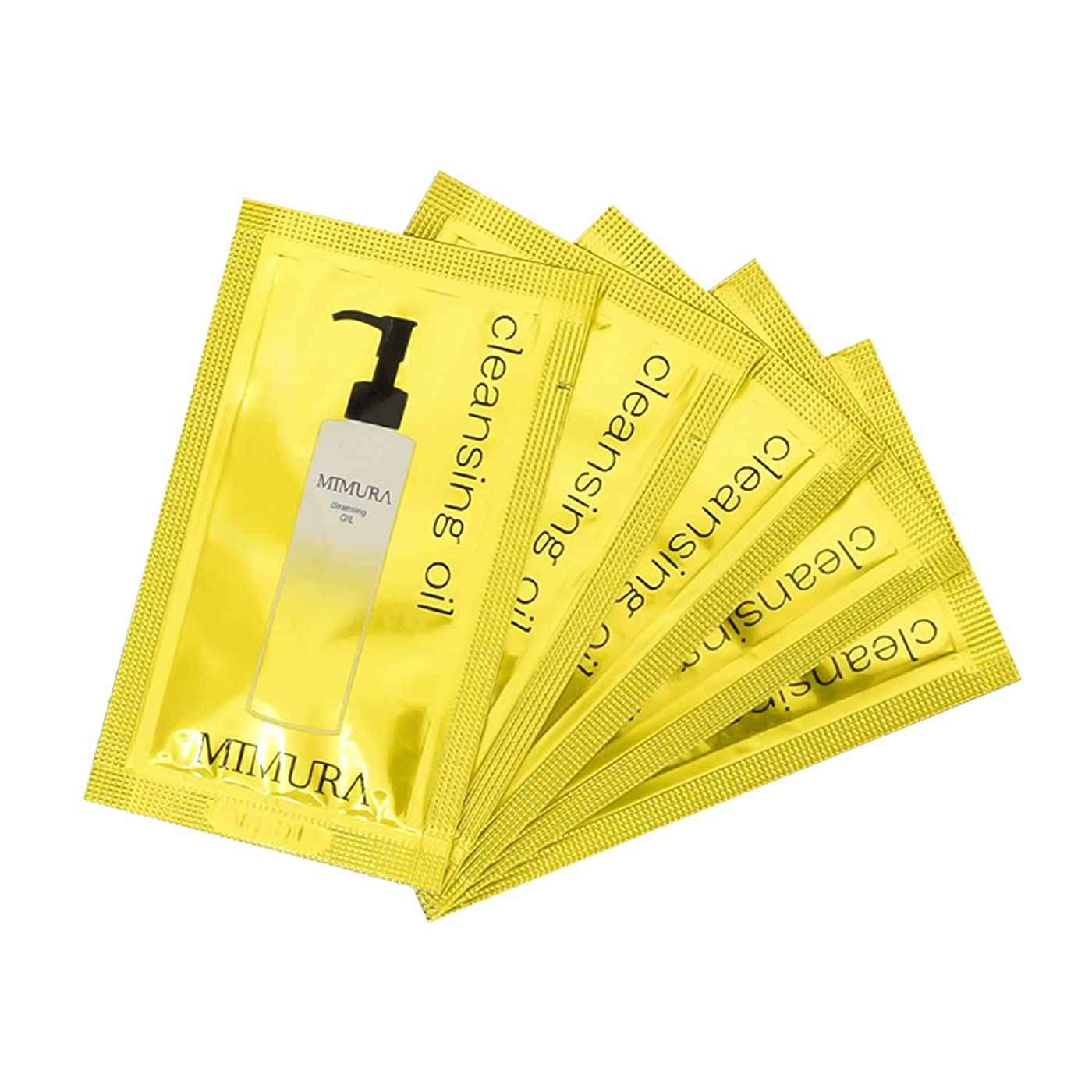 ウィスキークライアントチューインガムマツエクOK w洗顔不要 お風呂で使える 6つの植物オイル ミムラ クレンジングオイル 試供品5個入り ゆうパケット(ポスト投函)での発送となります。日本製 ※おひとり様1点までとなります。