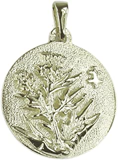 Best sterling silver thistle pendant Reviews