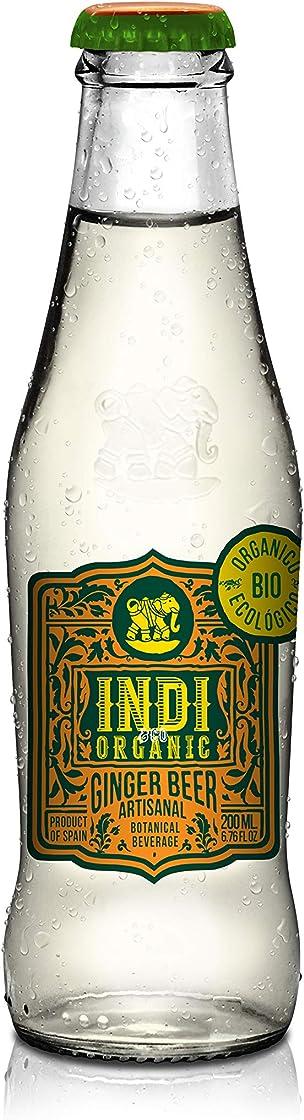 Indi & co. tonic water - acqua tonica 20cl (ginger beer, 24 bottiglie) B07RW94HKR