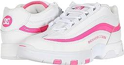 White/Hot Pink