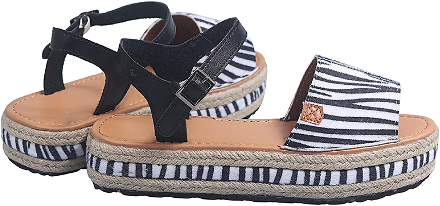 Womens Open Toe Wedge Platform Low Ankl Heel Ranking TOP18 New Free Shipping Sandals Espadrilles