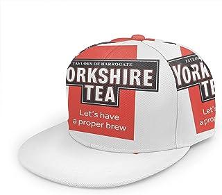 Yearinspace Yorkshire Tea Baseball Cap verstelbare hoed voor dames en heren, uniseks, anime-kortsluiting, volledig bedrukt...
