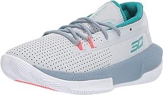 Unisex-Kid's Pre School SC 3ZER0 III Basketball Shoe, Halo Gray (101)/Ash Gray, 2