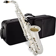 Jean Paul USA AS-400SP Student Alto Saxophone, Silver