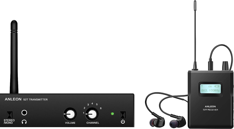 Anleon S2, estéreo inalámbrico con sistema de monitoreo personal.