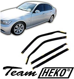 für BMW 3er E90 Lim mit ABE ClimAir Windabweiser vorne /& hinten 4-türer