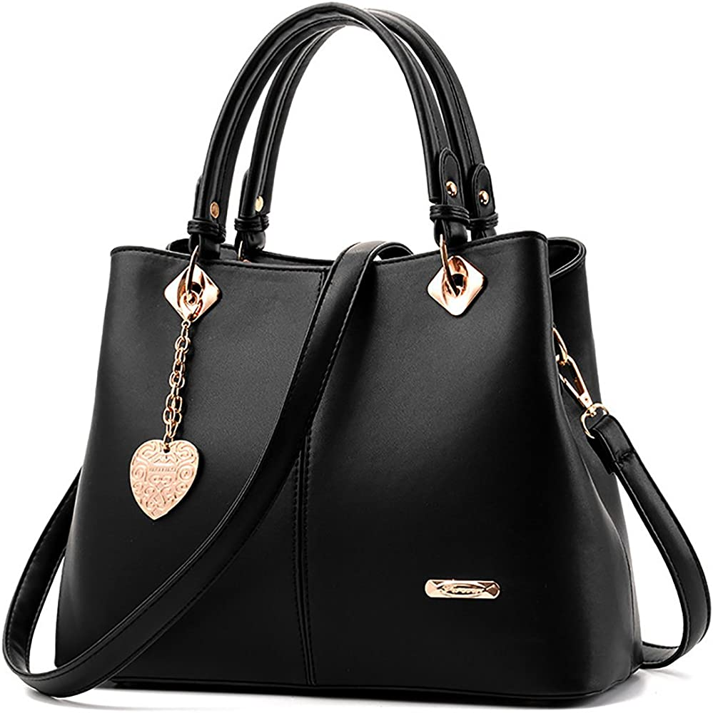 Tisdaini®, borsa a mano/tracolla per donna, in ecopelle pu KA-KUK44703