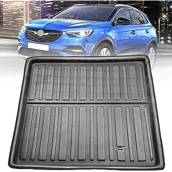 Antideslizante Basic alfombrilla de maletero para Opel Crossland x SUV 2017-suelo profundo